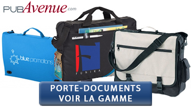 porte document à personnaliser
