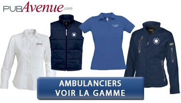 Equipement textile d'ambulanciers