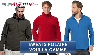 Sweat polaire personnalisable